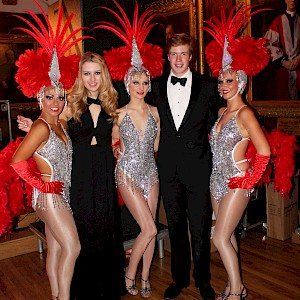 meet and greet showgirls hire