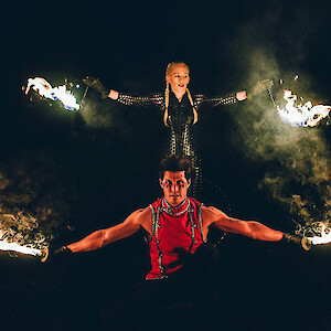 meet and greet fire dancers hire uk
