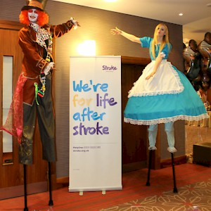promo stilt walkers hire uk