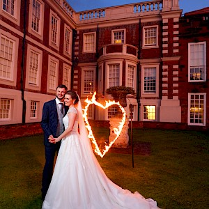 wedding fire show hire uk