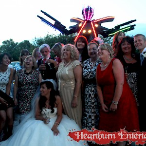 wedding LED robot hire uk