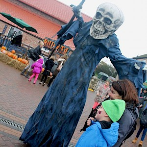 grim reaper stilt walker hire