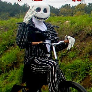 jack skellington penny farthing hire uk