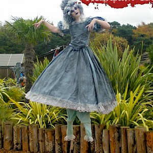 halloween stilt walker hire uk