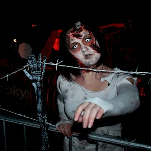 halloween zombie hire uk
