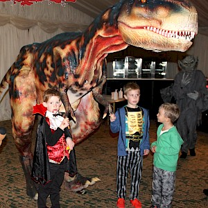 halloween dinosaur hire uk