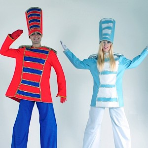 Toy soldier stilt walkers hire uk