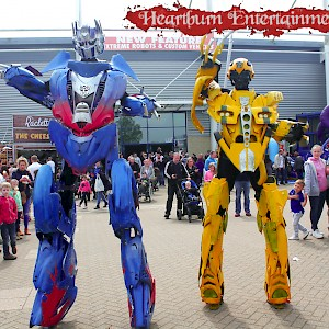 Transformers robots hire uk