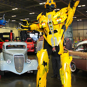 Transformers themed entertainment hire uk