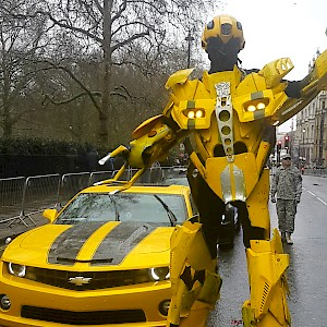 bumblebee robot hire uk