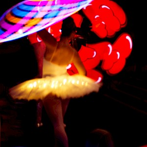 LED ballerina hire london