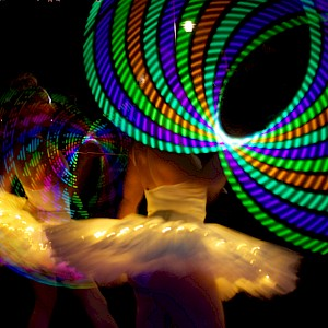 LED dancer hire london