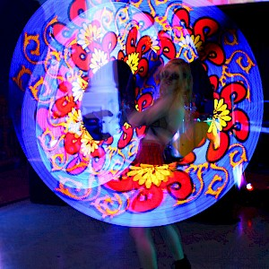 hire pixel poi show uk