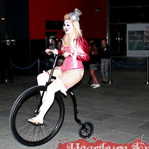 circus penny farthing rider hire uk