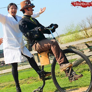 penny farthing performer hire uk