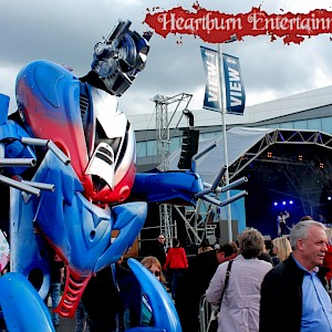 transformer robot hire uk
