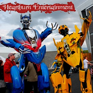 uk transformer robot hire