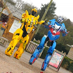 real life transformer robot hire uk