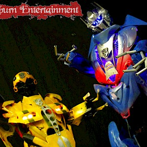 Transformers entertainment hire uk