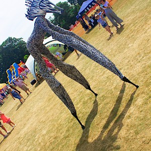 animal stilt walkers uk