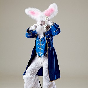 bouncy bunny stilt walker uk
