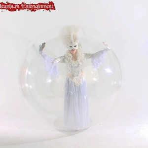 bubble performer hire uk