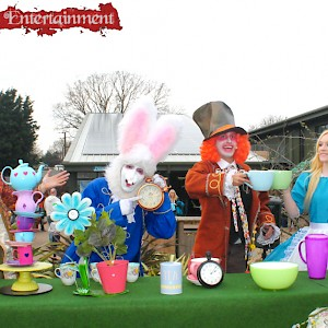 Alice in Wonderland themed show