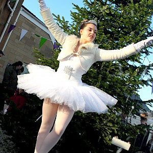 wind up ballerina hire uk
