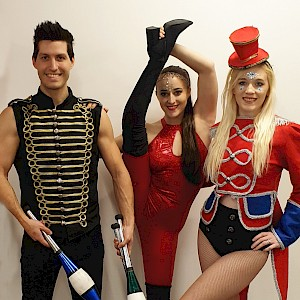 hire circus performers acts london