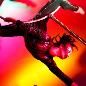 masquerade themed aerial performer hire uk