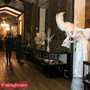 masquerade themed entertainment hire uk