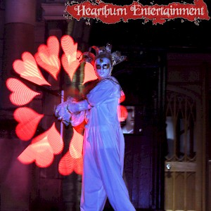 masquerade themed event entertainment