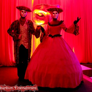 Masquerade themed actors hire