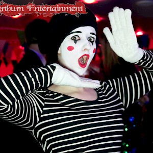 twisted circus themed entertainment