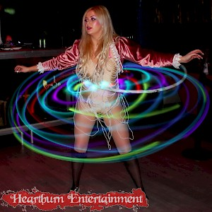 twisted circus themed event entertainment