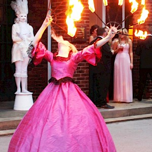 Bar Mitzvah fire performer hire uk