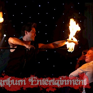bar mitzvah fire show hire