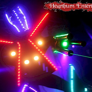 bar mitzvah entertainment LED robot