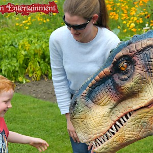 dinosaur act hire uk