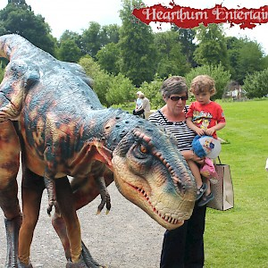 dinosaur animatronic uk