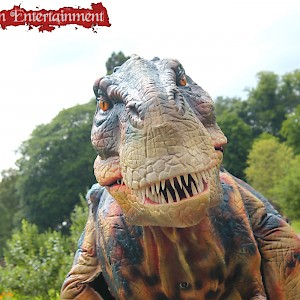 real life dinosaur hire uk