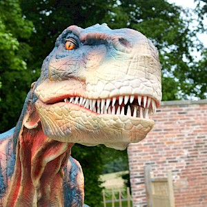 animatronic trex hire ireland