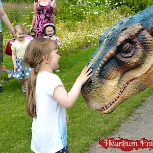 realistic dinosaur hire uk