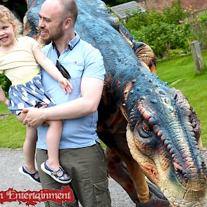 uk animatronic dinosaur