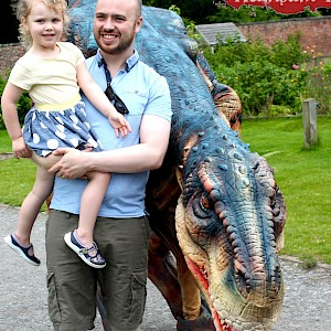ireland animatronic dinosaur hire uk