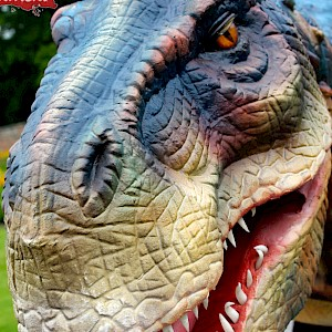 animatronic dinosaur hire uk
