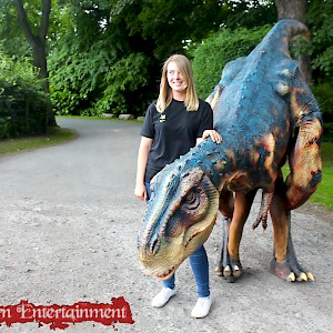 dinosaur puppet hire uk
