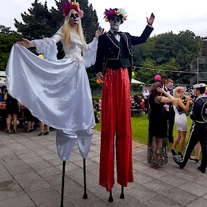 Day of the dead stitl walkers hire uk