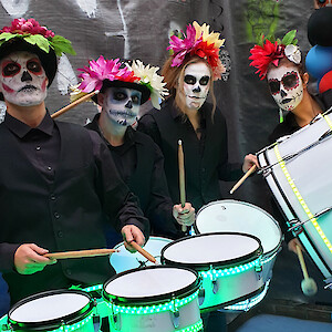 hire day of the dead drummers