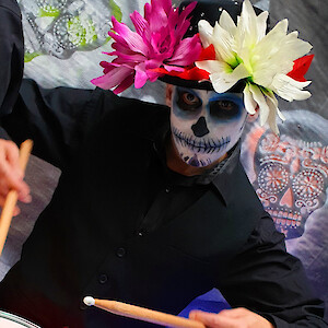 day of the dead drummer hire uk